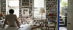 Love the idea of decorating with photos. Better to be seen than hidden in albums collecting dust.