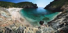Evia island,Almirichi beach