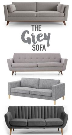 Reasons why you should buy a grey sofa. @visualheart www.visualheart.com