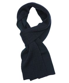 Fendi : green wool zucca chevron pattern reversible scarf : style # 346434801