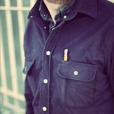The Yosemite Shirt from Taylor Stitch and Buckshot Sonny's All Is Vanity, Taylor Stitch, Army Watches, Casual Outfits, Men Casual, Shirt Jacket, Work Wear, Raincoat, Polo Ralph Lauren