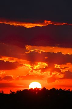 Sunset- my favorite of Jehovah's creation!