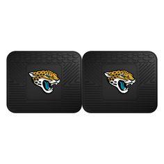 "Backseat Utility Mats 2 Pack 14""x17"" - Jacksonville Jaguars"