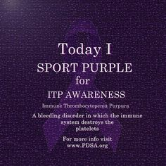 ITP awareness Get To Know Me, Good To Know, Anna Rose, Iron Deficiency, Get Educated, Circulatory System, Pregnancy Workout, Autoimmune Disease, Chronic Illness