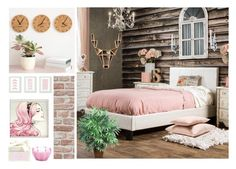 """""""Huntress"""" by bren-johnson ❤ liked on Polyvore featuring interior, interiors, interior design, home, home decor, interior decorating, Furniture of America, Hawkins, D.L. & Co. and Nearly Natural"""