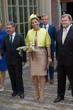 Royal Family Around the World: Queen Maxima Of The Netherlands Opens Micropia Museum on September 30, 2014 in Amsterdam