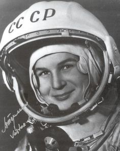 In 1963, Valentina Tereshkova became the first woman in Space.