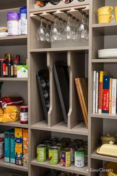 67 Ideas walk in pantry organization built ins 6 … – pantry redo Pantry Organisation, Kitchen Cabinet Organization, Organization Hacks, Pantry Ideas, Kitchen Storage, Pantry Storage, Storage Room, Closet Storage, Extra Storage