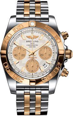Breitling Chronomat 41` CB014012/G713/378C отзывы покупателей и видео обзор. Перед тем как купить Наручные часы марки Breitling сначала