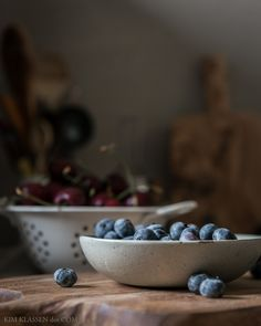 dark and moody berries and cherries food photography. Edited with Kim Klassen preset MoodSwing from the Studio Collection