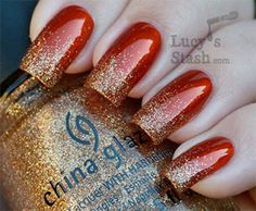 Easy Red Nail Art Designs & Ideas For Girls 2013/ 2014