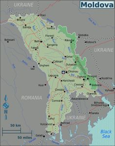 Moldova: Break-away region east of the Dniester River, on the Ukrainian border, where Russian forces are supporting the Slavic population...The Moldovan government has no control over the region of Transnistria, which declared independence, is self-governing, and therefore a de facto independent country.