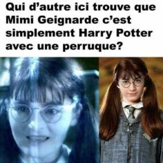 moaning myrtle looks like harry with a fringe! Harry Potter Film, Images Harry Potter, Harry Potter Jokes, Harry Potter Fandom, Harry Potter World, Doctor Who, Fans D'harry Potter, Sherlock, Funny Photos
