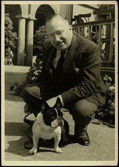 French Bulldog, Vintage photo