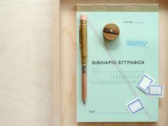Greek Form Books / Present & Correct.