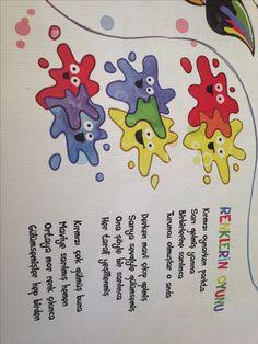 Even colors are in harmony- Renkler bile uyum içindeee Even colors are in harmony - Art For Kids, Crafts For Kids, Dutch Government, Pre School, Preschool Activities, Game Art, Art Projects, Art Drawings, Slogan