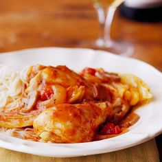 Our favorite easy Italian chicken recipe is flavorful and a quick slow cooker dish to prepare. A delicious dinner meal you'll make again and again! And it's low-fat and healthy!