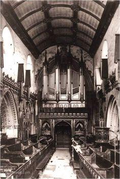 Ca.1358 - Long Choir, Christ Church Cathedral, Dublin - Architecture of Dublin City, Vanished Ireland - Archiseek.com