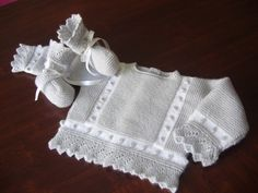 This place specializes in hand made baby to eight years. They are beautiful! Cute Baby Clothes, Girl Doll Clothes, Knit Baby Sweaters, Baby Socks, Crochet For Kids, Baby Booties, Baby Accessories, Baby Wearing, Baby Knitting