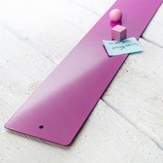 Magnetleiste pink mit fünf starken Magneten von haftbar, magnete und mehr auf DaWanda.com