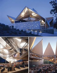 Origami-Inspired Architecture: 14 Geometric Structures