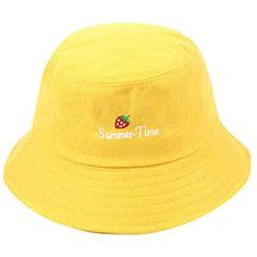 Strawberry Cute Fisherman Hat Adult Women Men Sunscreen Sunshade Outdoors Cap