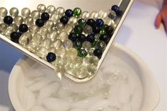 She Dumps Marbles In Ice Water. What She Makes? Every Girl Needs This!