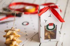 Scatola per biscotti di Natale da stampare gratis