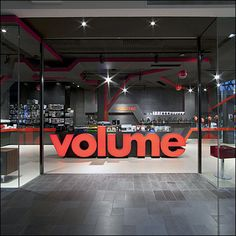 Turning Up The Store Volume Visually