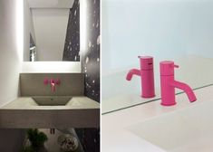 Pink Vola Faucets/Remodelista
