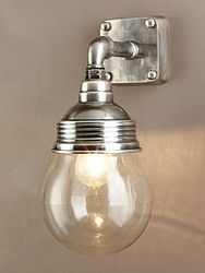 Dover Wall Light Antique Silver $159