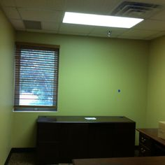 Heather thrift office/new paint and carpet