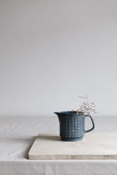 VINTAGE JUG IN PETROL via STUDIO OINK SELECTED. Click on the image to see more!