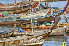 Fishing Boats, Thailand