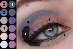 Four looks with the Sleek Vintage Romance Palette | Beauty Before Breakfast