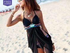 LivingSocial Shop: Women's Black Bikini