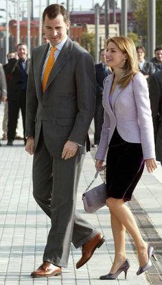 Se cumplen nueve años del enlace de los Príncipes de Asturias, Don Felipe y Doña Letizia, que tuvo lugar el 22 de mayo de 2004 en La Almudena de Madrid.