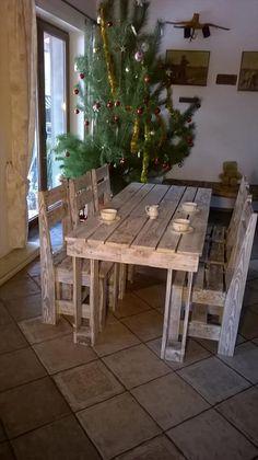 Wooden Pallet Dining Furniture Set | 101 Pallets