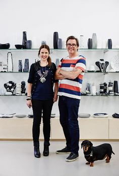 The Design Files Interview- Louise Olsen and Stephen Ormandy of Dinosaur Designs