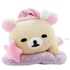 Korilakkuma Plush: Sleeping