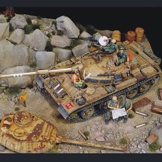 Tiran 4. Yom Kippur War PART1 scale: 1:35 By: Sergey Kovalyov From: Diorama.ru #scalemodel #plastimodelismo #miniatura #miniature #miniatur #hobby #diorama #humvee #scalemodelkit #plastickits #usinadoskits #udk #maqueta #maquette #modelismo #modelism