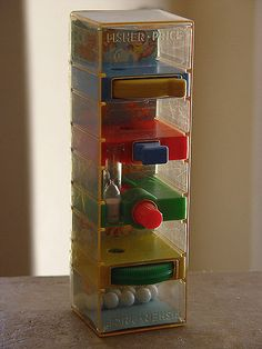 "Loved to play with this at the doctor's office.  Now it's too ""germy"" to have toys at doctor's office."