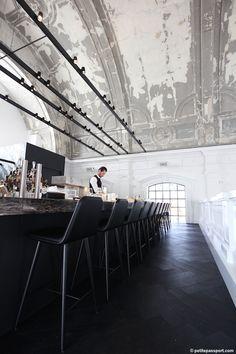 Restaurant 'The Jane' Antwerp, Belgium designed by Piet Boon