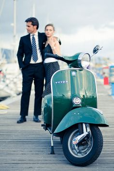 Vespa 50-th, via Flickr. #Vespa #Piaggio #italiandesign