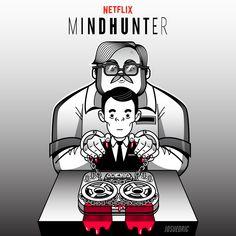 josuedric.tumblr.com — Mindhunter Adobe illustrator (TimeLapse)