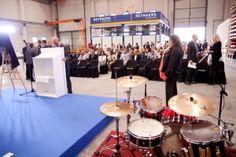 Inauguración oficial de las nuevas instalaciones de Reynaers Aluminium, en Barcelona.
