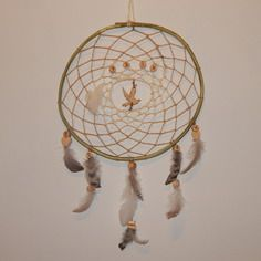 Attrape rêve dreamcatcher naturel en bois de ronce