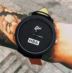 c7e782e22ae Stylové pánksé hodinky HBA černé – SLEVA 60% + POŠTOVNÉ ZDARMA Na tento  produkt se