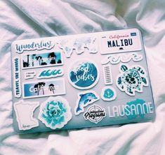 See more of vscovibess's content on VSCO. Mac Stickers, Cute Laptop Stickers, Macbook Stickers, Mobile Stickers, Preppy Stickers, Coque Macbook, Macbook Case, Laptop Case, Laptop Design