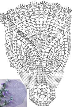 5. 블루도일리 / 아름다운 코바늘 도일리도안